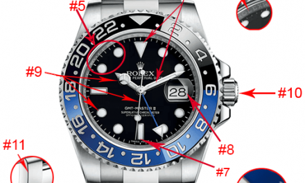 How to recognize a fake watch