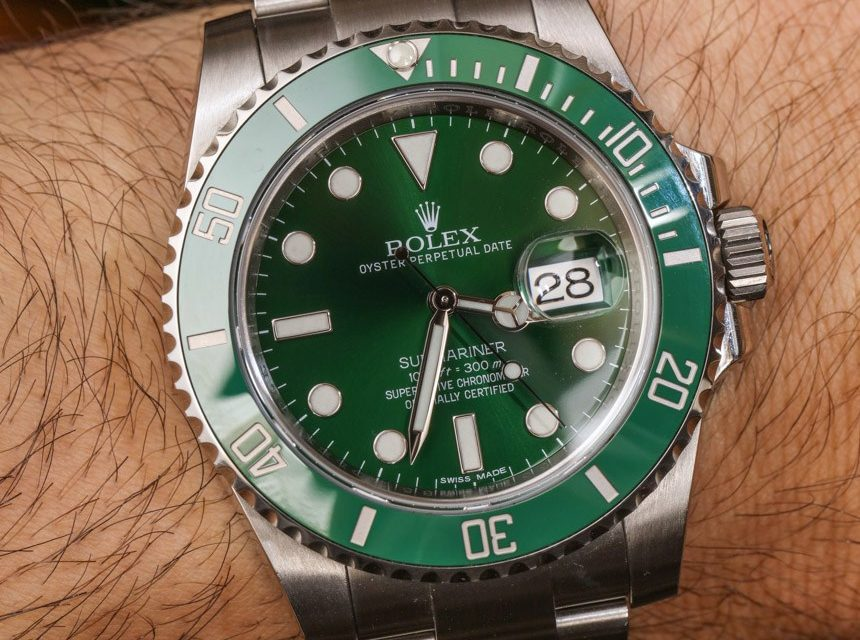 Green Rolex Submariner