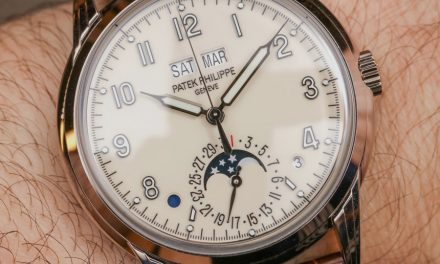5320G Moon Phase Watch By Patek Philippe